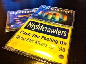 Gebrauchte CD-Maxis als Ersatz für Nightcrawlers - Push The Feeling On