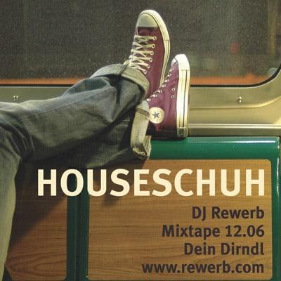 Houseschuh, erstes Design, Mixtapes