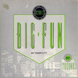 Inner City - Big Fun, Plattencover
