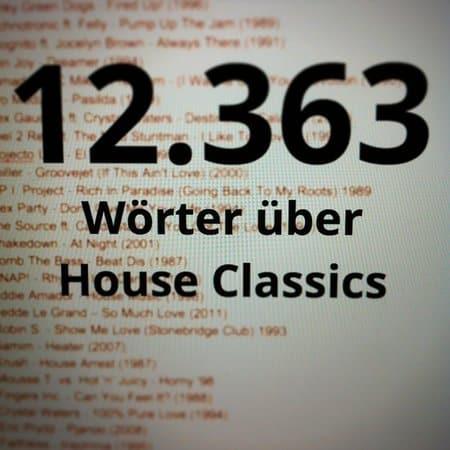 12.363 Wörter für House-Classics E-Book der Kindle-Challenge geschrieben