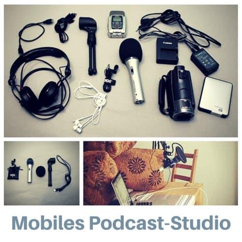 Mobiles Podcast-Studio
