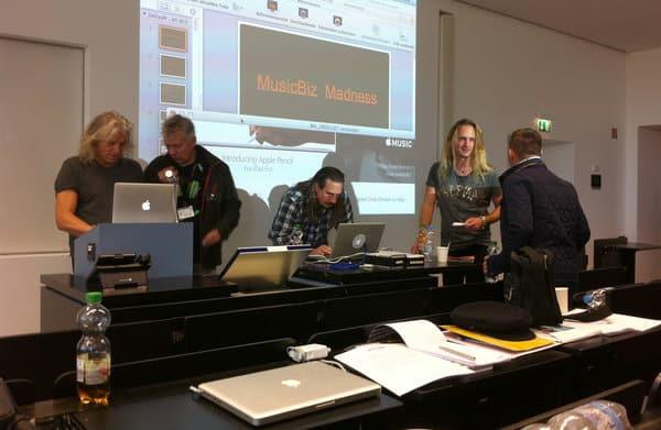 Vorträeg bei MusicBiz Madnes Konferenz