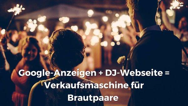 Webseite als Verkaufsmaschine für Brautpaare