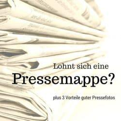 Beispiel für eine Pressemappe und Pressetext richtig schreiben