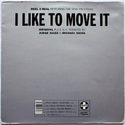 Cover Maxi-Vinyl: Reel 2 Real ft. The Mad Stuntman - I Like To Move It (1993)