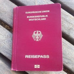 Wie weit komme ich ohne Reisepass?