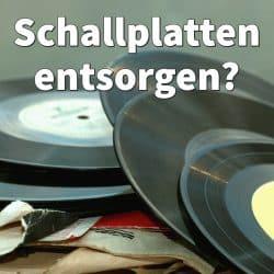 Schallplatten entsorgen: Wohin mit alten Vinyl Schallplatten?