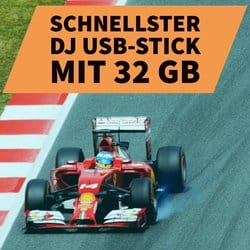 Welchen 32 GB USB-Stick kaufen DJs am häufigsten?