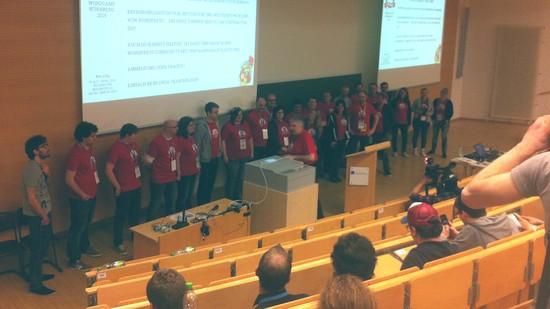 Wordcamp Nürnberg 2016, Danke an Organisationsteam, Albrecht Dürer Hörsaal