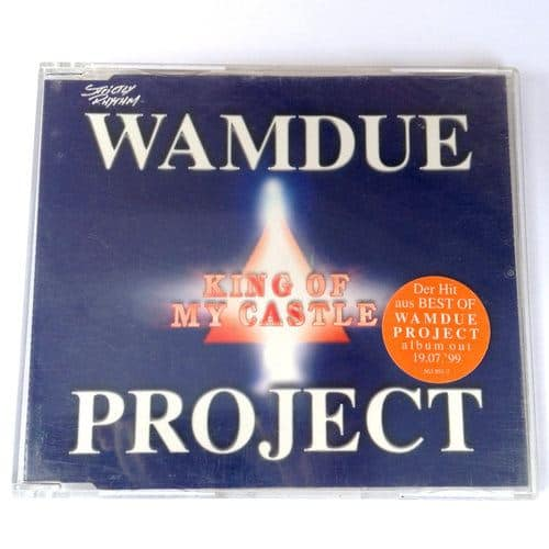 Wamdue Project - King Of My Castle (1999) Maxi-CD Cover