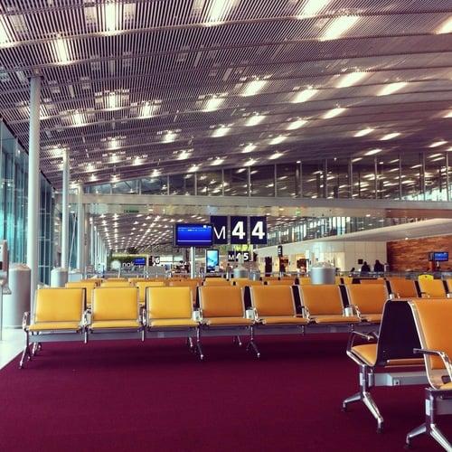 Terminal 2E am Flughafen Paris CDG