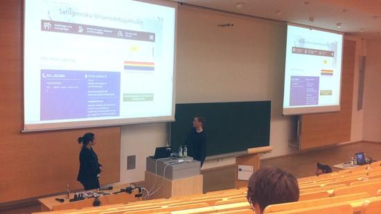 Data Protection Strikes Back, Wordcamp 2016, Amelia Andersdotter und Anders Jensen-Urstad